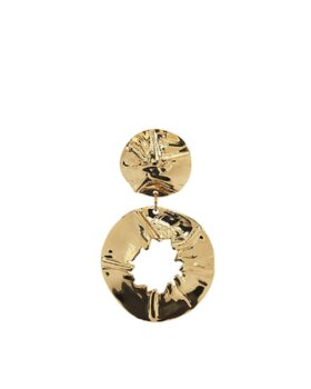 PLISSE COPENHANGEN - Hammered earring hole