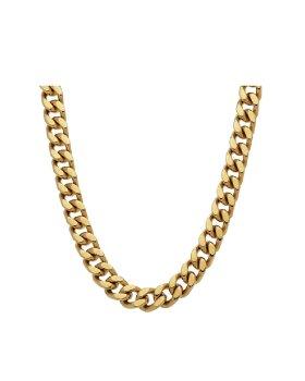 PLISSE COPENHANGEN - Punk chain neckl.45cm