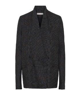 RABENS SALONER - Faded check jacket