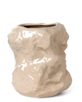 FERM LIVING - Tuck Vase - CASHMERE