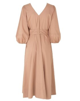 SECOND FEMALE - Phoebe Wrap Midi dress