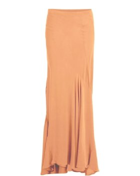RABENS SALONER - Drape long skirt