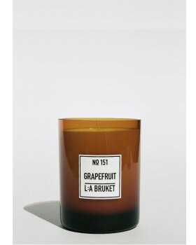 L:A BRUKET - GRAPEFRUIT SCENTED CANDLE
