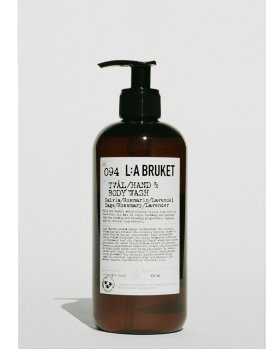 L:A BRUKET - Hand & Body Wash S/R/L 450ML