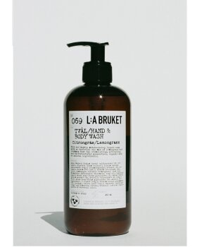 L:A BRUKET - Hand & Body Wash L/G  450ML