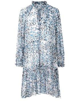 SECOND FEMALE - Clouds LS Midi Dress