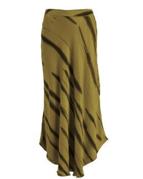 RABENS SALONER - Nelie Wild stripe bias skirt