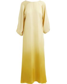 RABENS SALONER - Hanin fade open back dress