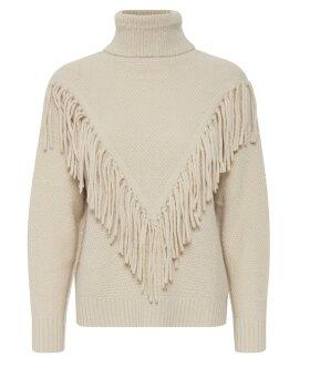 ICHI - Marissa knit w. fringes