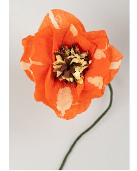 STUDIO ABOUT - Paper flower Dahlia - Red