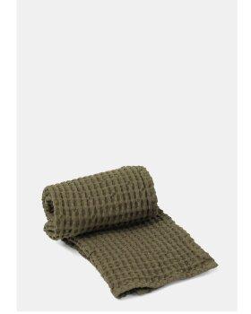 FERM LIVING - Organic Hand Towel - OLIVE