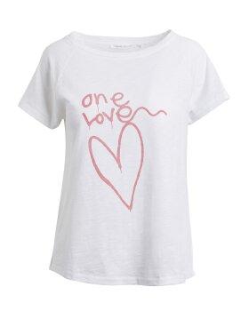 RABENS SALONER - Sally One love T-shirt