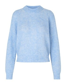 SECOND FEMALE - Brooky Knit Puff O- Neck