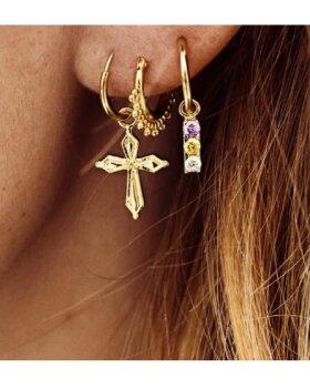 ANNA+NINA - Singlew Madonna Cross Earring
