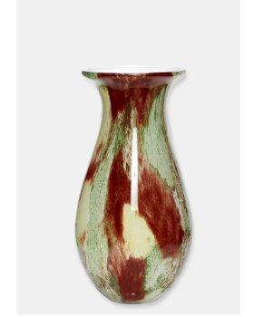 HÜBSCH  - Vase glas rust