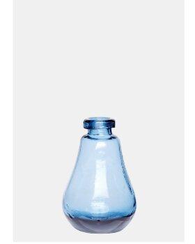 HÜBSCH  - Vase glas H13cm