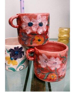 ANNA+NINA - Floral Mug Blush