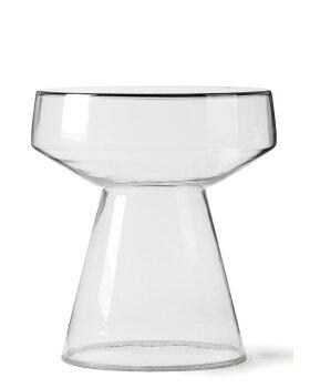 HK LIVING - Glass Side Table