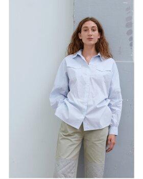 MADS NØRGAARD - Organic Poplin Shella Shirt