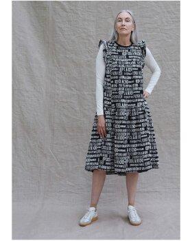 MADS NØRGAARD - Graphic Cotton Damilla dress