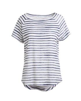 RABENS SALONER - Biggi Chalk stripe T-shirt
