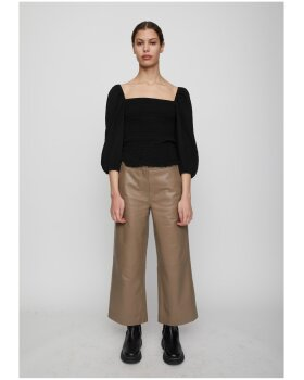 JUST - Roxy Leather Trousers